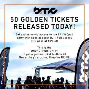 Brighton Music Conference Golden Tickets